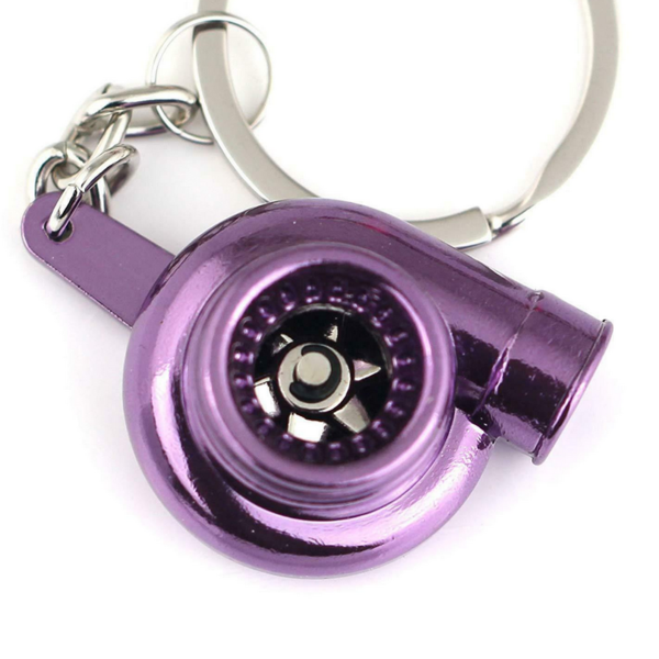 Turbo Keychain - Violet Chrome